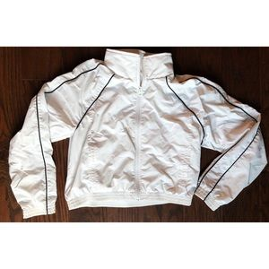 Abercrombie & Fitch White Sport Jacket